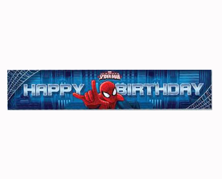 SPIDERMAN ULTIMATE PARTY GIANT BANNER