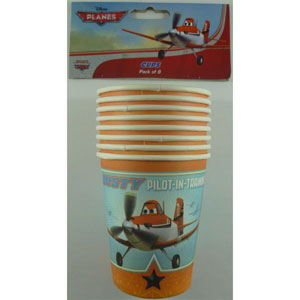 DISNEY PLANES PARTY CUPS PACK OF 8