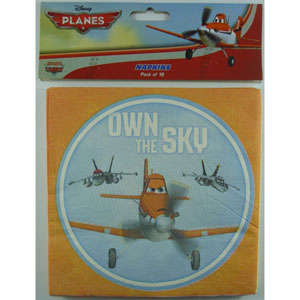 DISNEY PLANES PARTY NAPKINS PACK OF 16