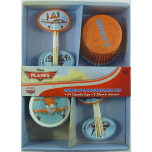 DISNEY PLANES CUP CAKE DECORATING KIT