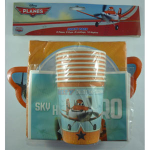 DISNEY PLANES PARTY PACK OF 40
