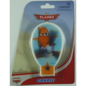 DISNEY PLANES PARTY CANDLE