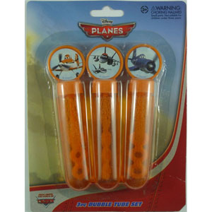 DISNEY PLANES PARTY BUBBLES PACK OF 3