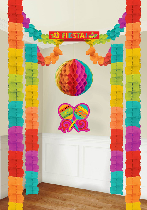 MEXICAN FIESTA ALL IN ONE DECORATING KIT