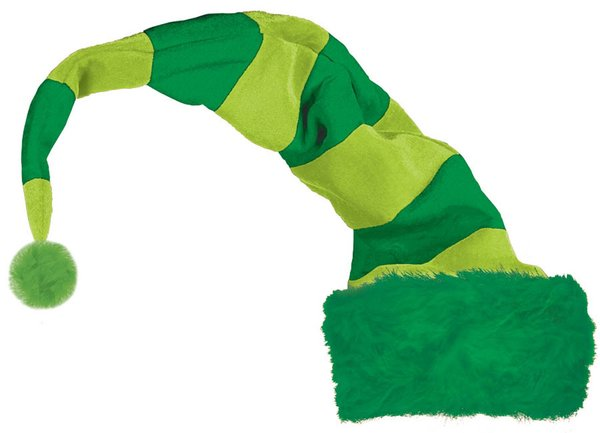 ST PATRICK'S DAY STRIPED LEPRECHAUN PLUSH HAT
