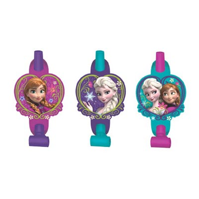 DISNEY FROZEN BLOWOUTS PACK OF 8