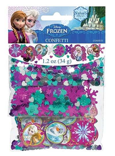 DISNEY FROZEN CONFETTI/SCATTERS VALUE PACK