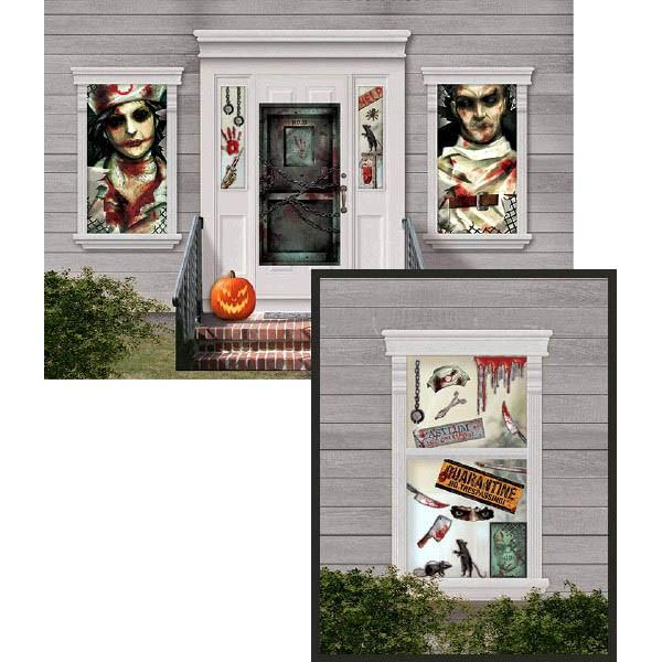 SCENE SETTER - ASYLUM WALL DECORATING KIT - MEGA VALUE PACK