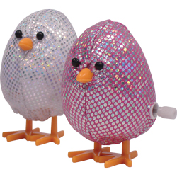 WIND UP MINI SEQUINED CHICK