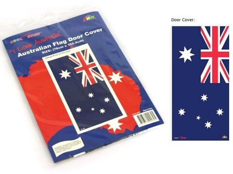 AUSTRALIAN FLAG DOOR COVER