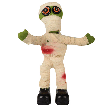 HALLOWEEN ANIMATED DANCING MUMMY WITH SOUND - LUCKY DIP