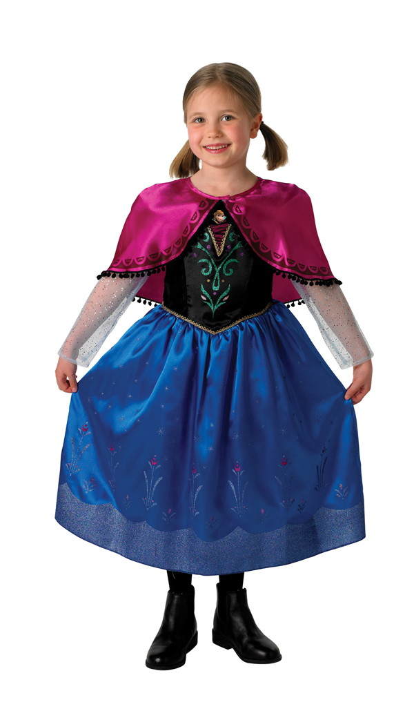 DISNEY FROZEN LICENSED ANNA COSTUME DELUXE