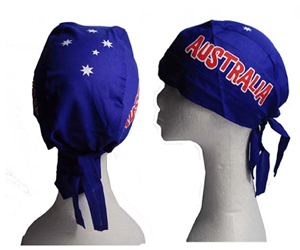 AUSTRALIAN HEADSCARF - 2 DESIGNS