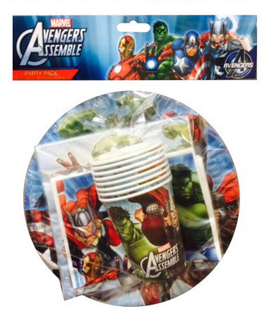 AVENGERS PARTY PACK OF 40