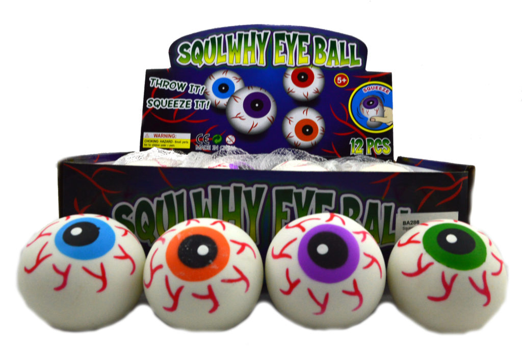 PARTY FAVOURS - SQUISHY SQUEEZE EYEBALL