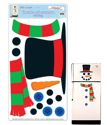 CREATE A \'OLAF\' THE SNOWMAN WALL CLING
