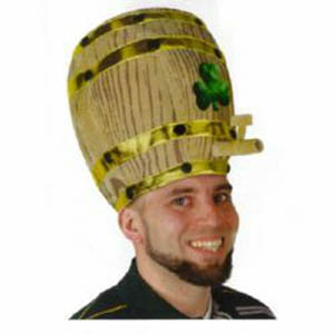 SHAMROCK BEER BARREL HAT