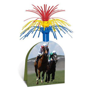 DERBY DAY HORSE RACING TABLE CENTREPIECE