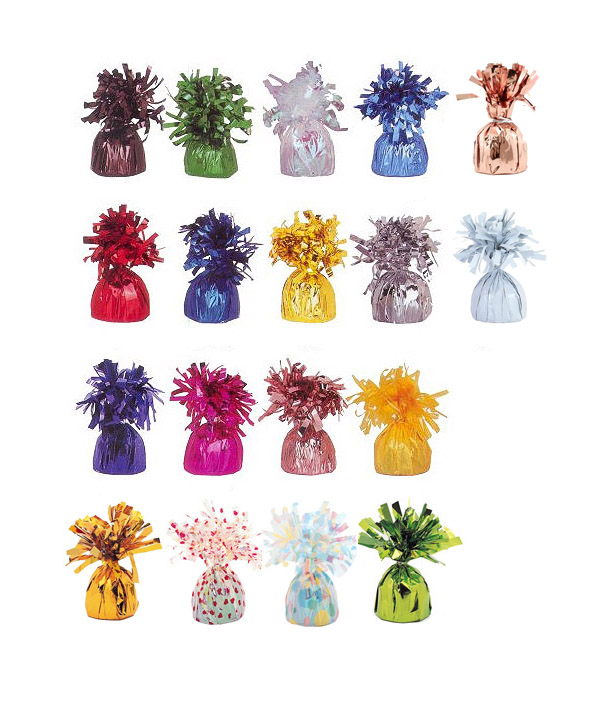 BALLOON WEIGHTS - CHOOSE FROM 18 COLOURS