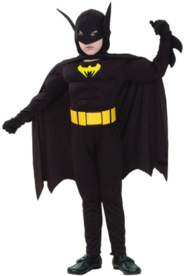 BOYS BATMAN COSTUME - MEDIUM