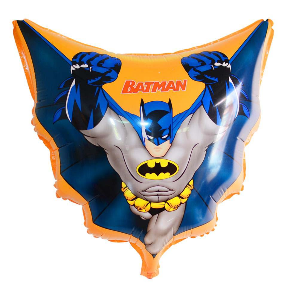 FOIL SUPER SHAPE BALLOON - BATMAN WITH CAPE