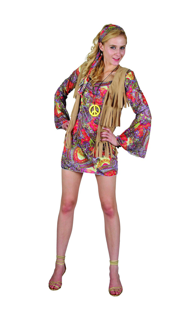 1960'S WOODSTOCK FLOWER LADY COSTUME