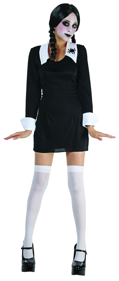 APRIL ADDAMS CREEPY SCHOOLGIRL COSTUME