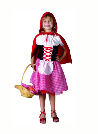 LITTLE RED RIDING HOOD COSTUME - SMALL