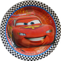 CARS 2 - PARTY PLATES PACK OF 8