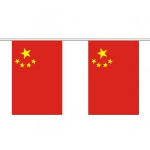 CHINESE FLAG BUNTING