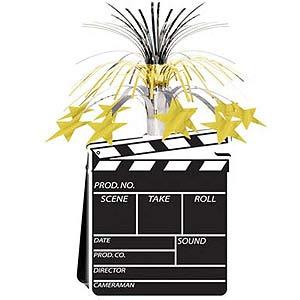 Image of Movie Set Clapboard Centrepiece