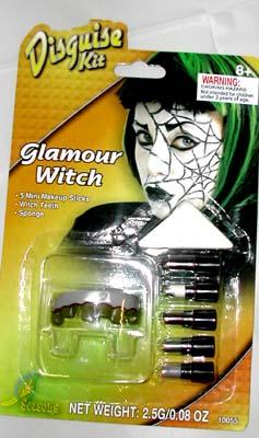 WITCH FACE PAINT DISGUISE KIT