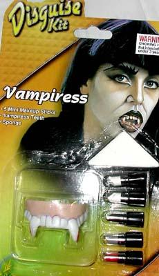 VAMPIRESS FACE PAINT DISGUISE KIT