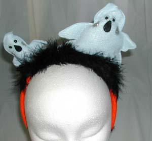 CUTE HALLOWEEN HEADBAND - GHOSTS