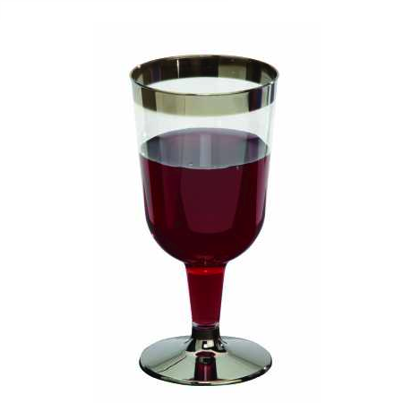 SILVER SERVICE GLASSES - WINE PACK 12
