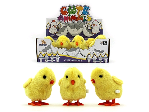 EASTER JUMPING CHICKS WIND UP