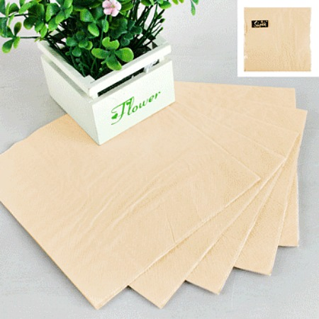 NATURAL ECO PAPER LUNCH NAPKINS - PACK OF 30