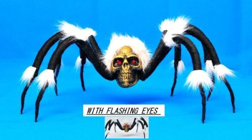SLASH THE SPIDER WITH LIGHT UP FLASHING EYES