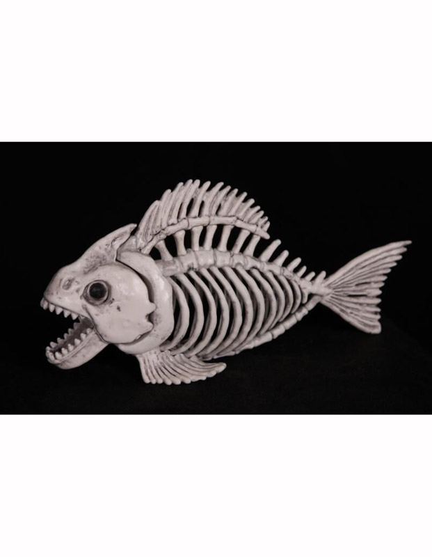 SKELETON PIRANHA FISH