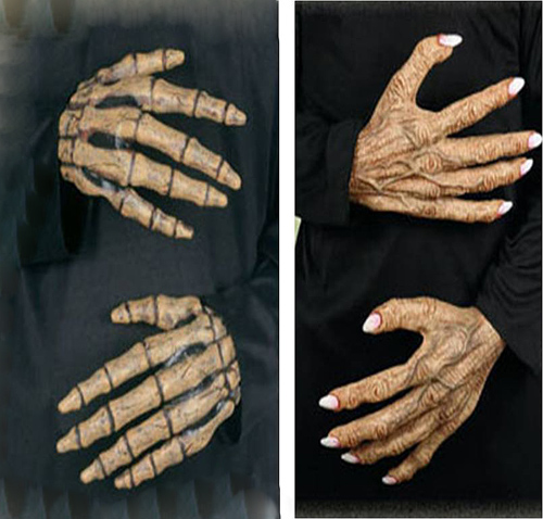 CHARACTER HANDS - SKELETON OR WITCH