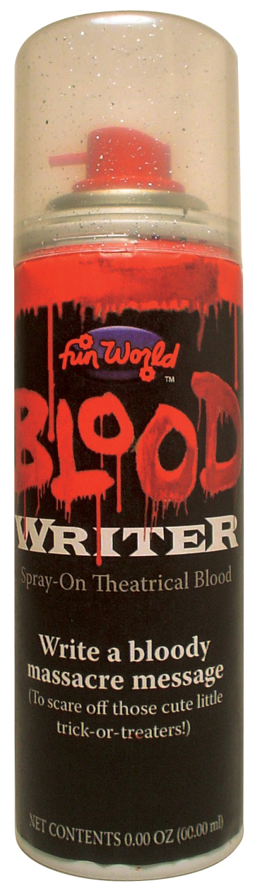 BLOOD WRITER AEROSOL SPRAY