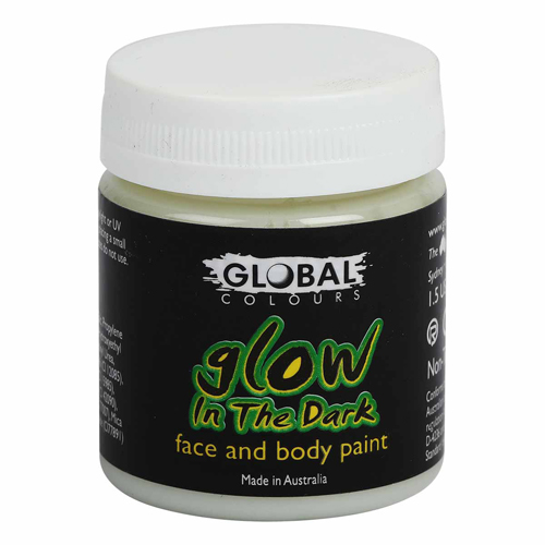 GLOBAL GLOW IN THE DARK UV FACE PAINT 45ML