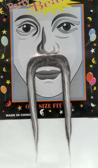 MOUSTACHE - CHINESE LONG GREY