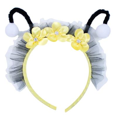 GIRLS BUMBLE BEE FAIRY HEADBAND - ONE SIZE