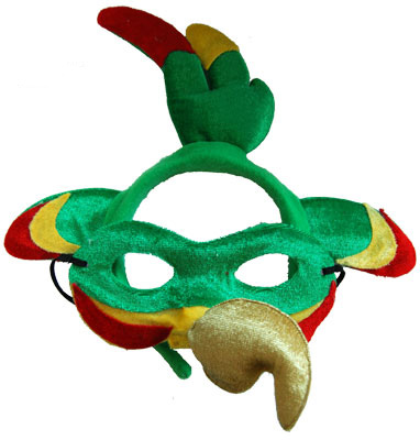 HEADBAND & MASK SET - PARROT