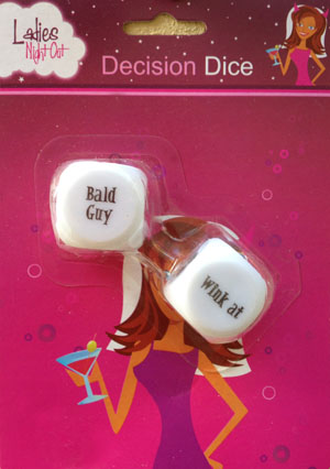 LADIES NIGHT OUT DECISION DICE