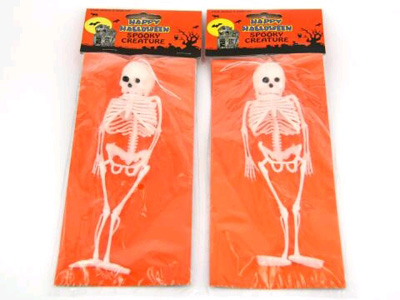 SKELETON - SOFT PLASTIC HANGING SKELETON