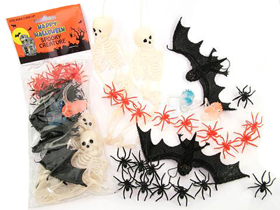 PARTY FAVOURS - HALLOWEEN SPOOKY CREATURES PACK OF 25