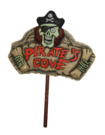 PIRATES COVE LIGHT UP SIGN