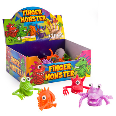 PARTY FAVOURS - FINGER PUPPET MONSTERS